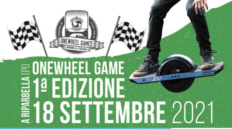 Onewheel GAME, il Primo Contest Italiano del 2021